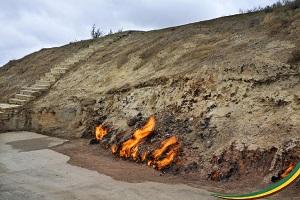 אזרבייג'ן - הר האש